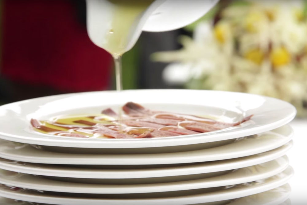 Catering de anchoas en tu boda